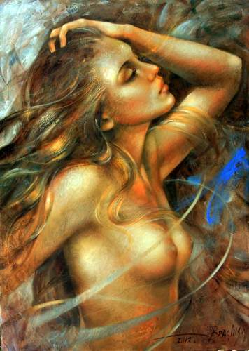 Id Arthur Braginsky Nude Oil Paintings B